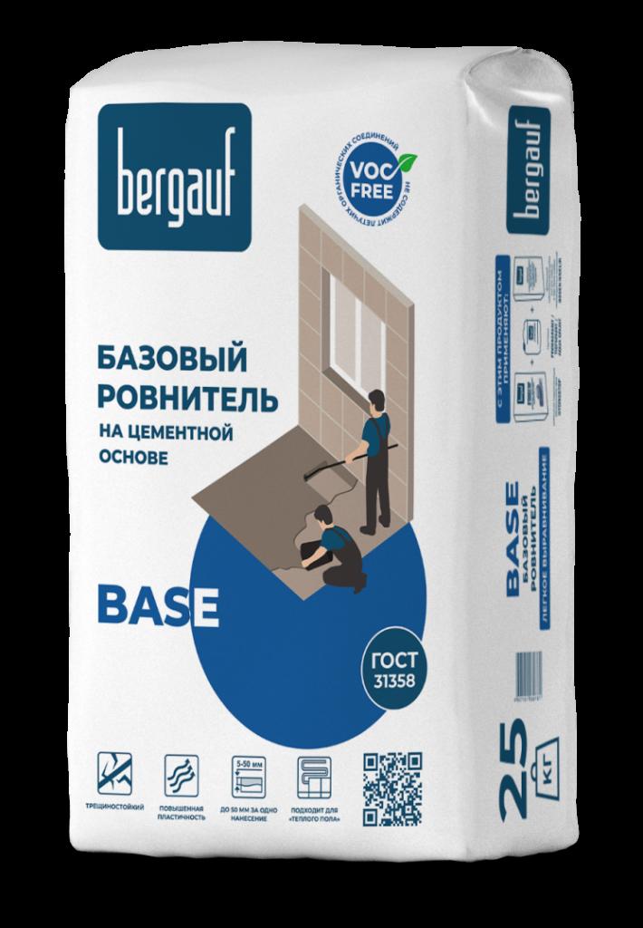Ровнитель базовый Bergauf BASE 25кг